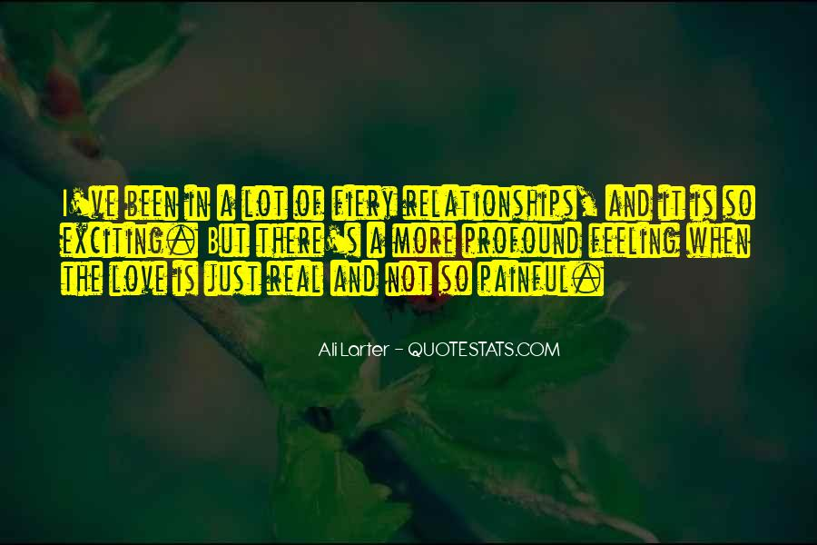Quotes About Exciting Relationships #1711331