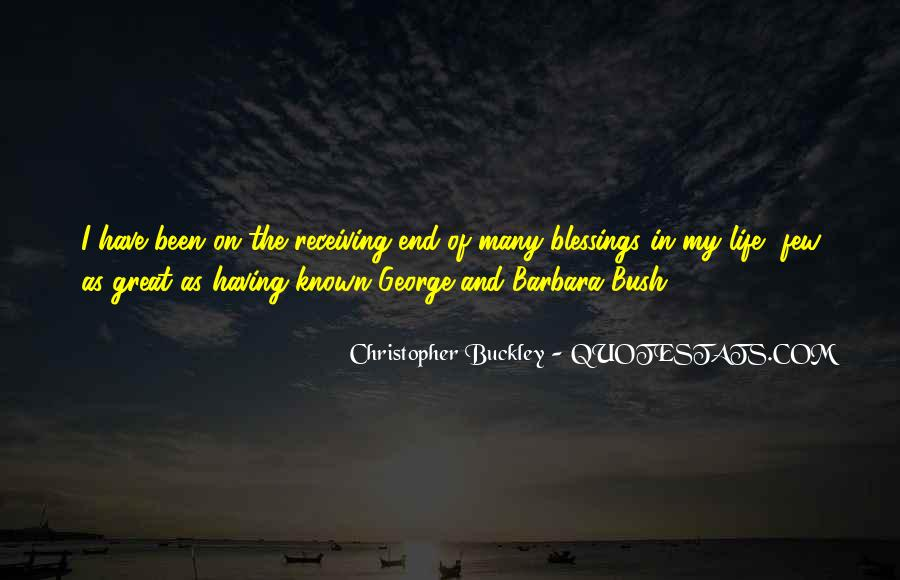 Quotes About Blessings Of Life #187093