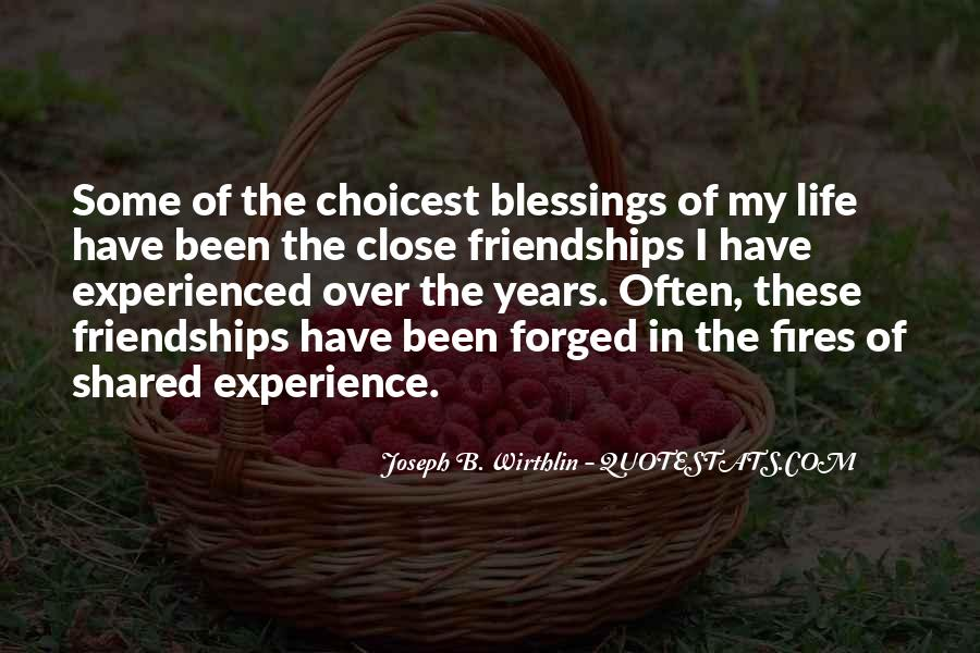 Quotes About Blessings Of Life #210568
