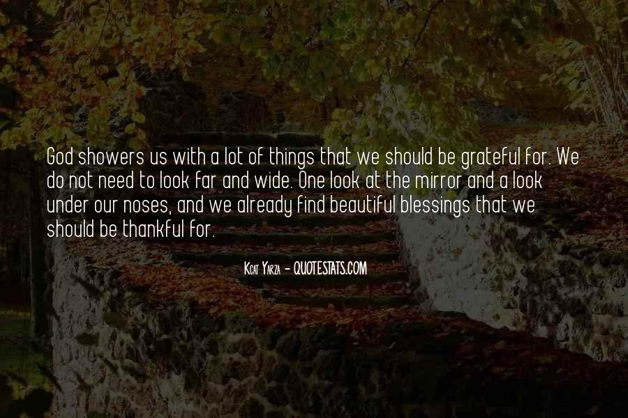 Quotes About Blessings Of Life #217150