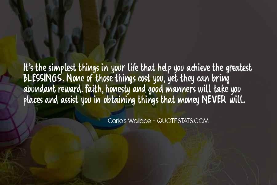 Quotes About Blessings Of Life #242202