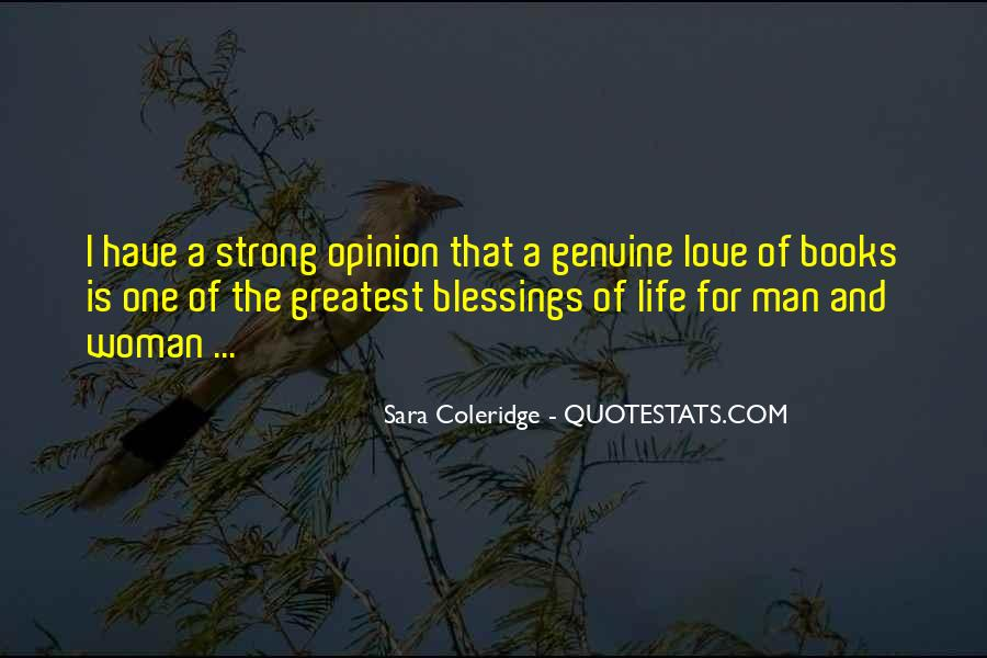 Quotes About Blessings Of Life #243129