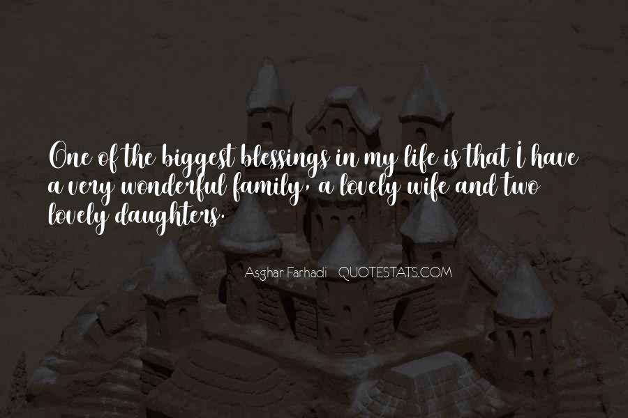 Quotes About Blessings Of Life #411710