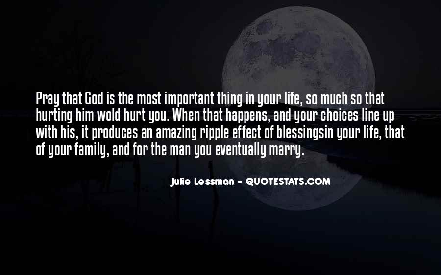 Quotes About Blessings Of Life #492584
