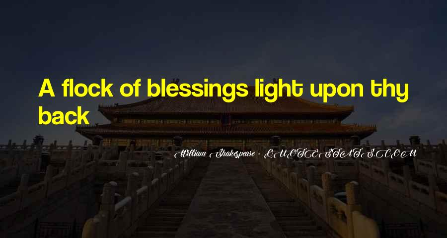 Quotes About Blessings Of Life #51717