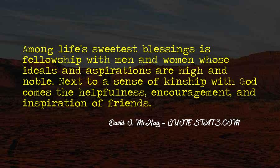 Quotes About Blessings Of Life #587435