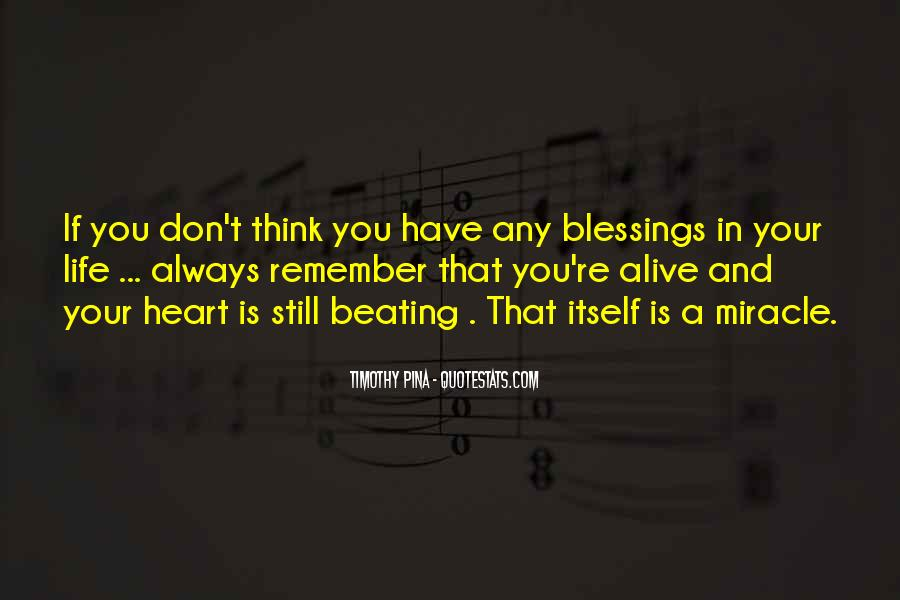 Quotes About Blessings Of Life #671129