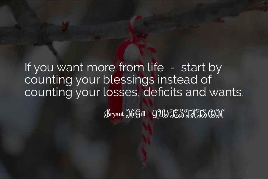Quotes About Blessings Of Life #675626