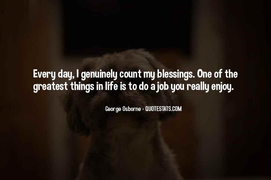 Quotes About Blessings Of Life #75088