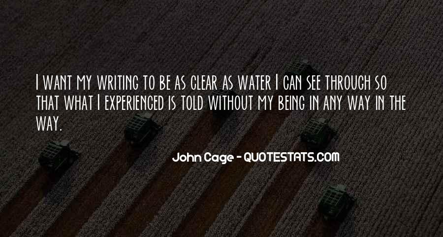 Quotes About Not Being Experienced #1024890