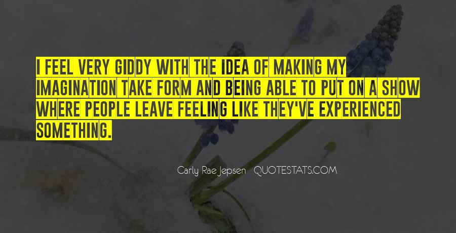Quotes About Not Being Experienced #1410275