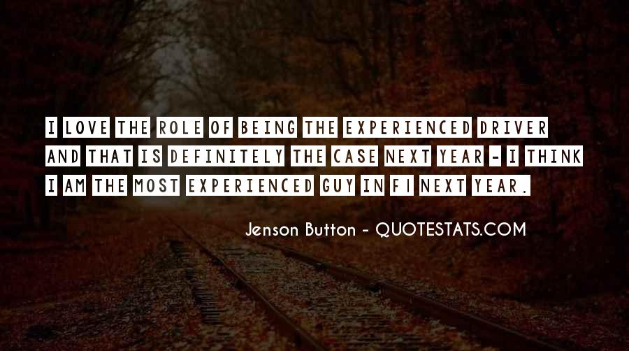 Quotes About Not Being Experienced #1422658