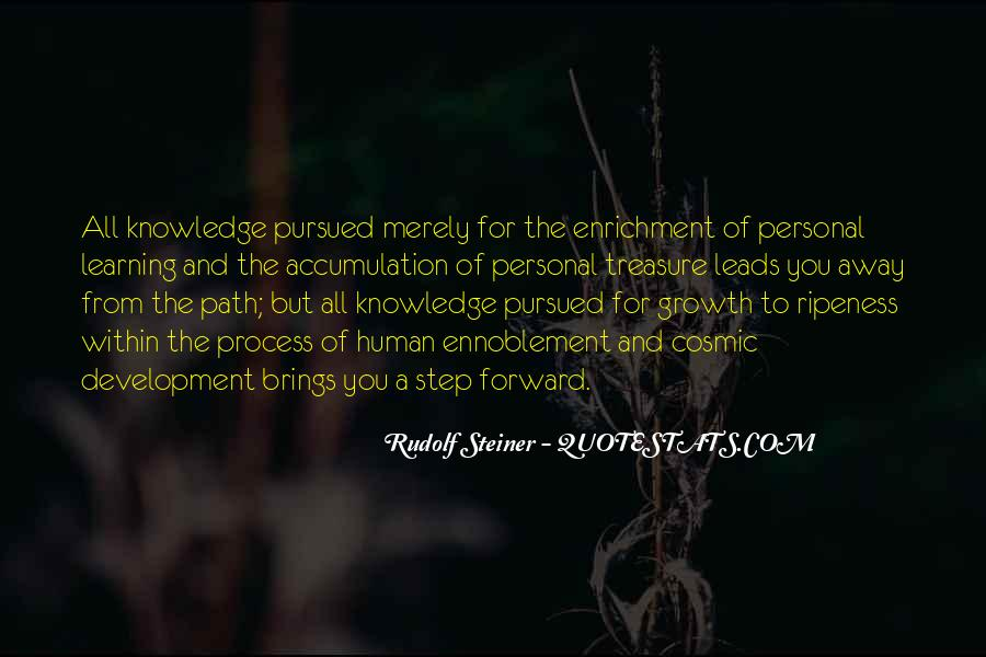 Quotes About Human Development And Learning #765996