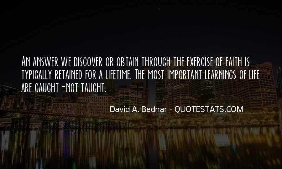 Quotes About Learnings In Life #1293908