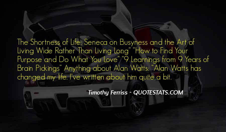 Quotes About Learnings In Life #768909