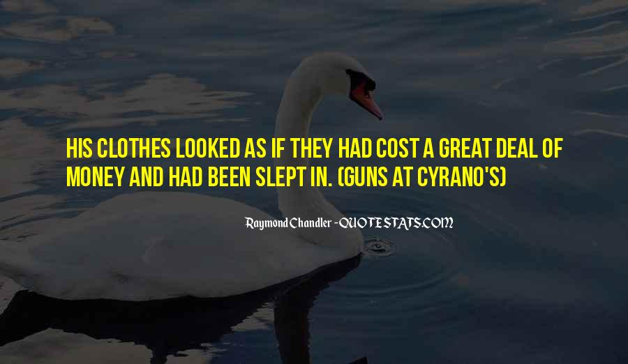 Quotes About Cyrano #19763