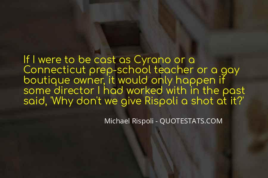 Quotes About Cyrano #253163