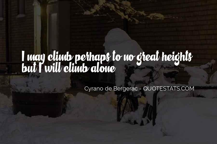 Quotes About Cyrano #756072
