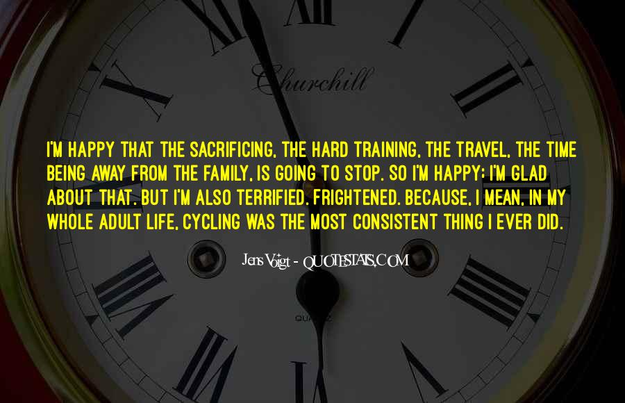 Quotes About Training Hard #1047830