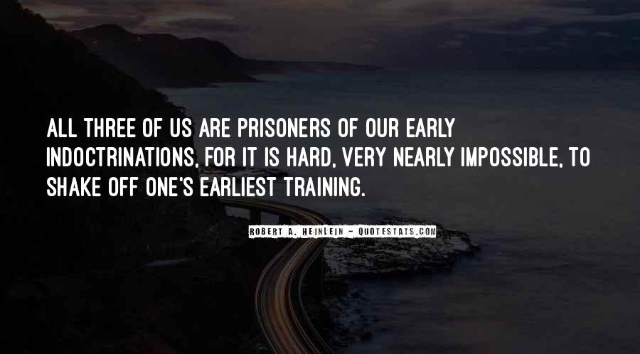 Quotes About Training Hard #1055187
