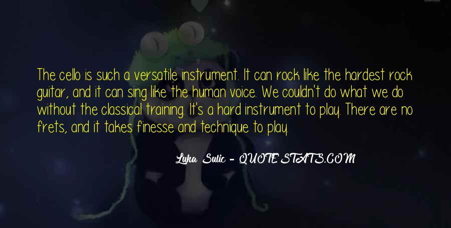 Quotes About Training Hard #1145854