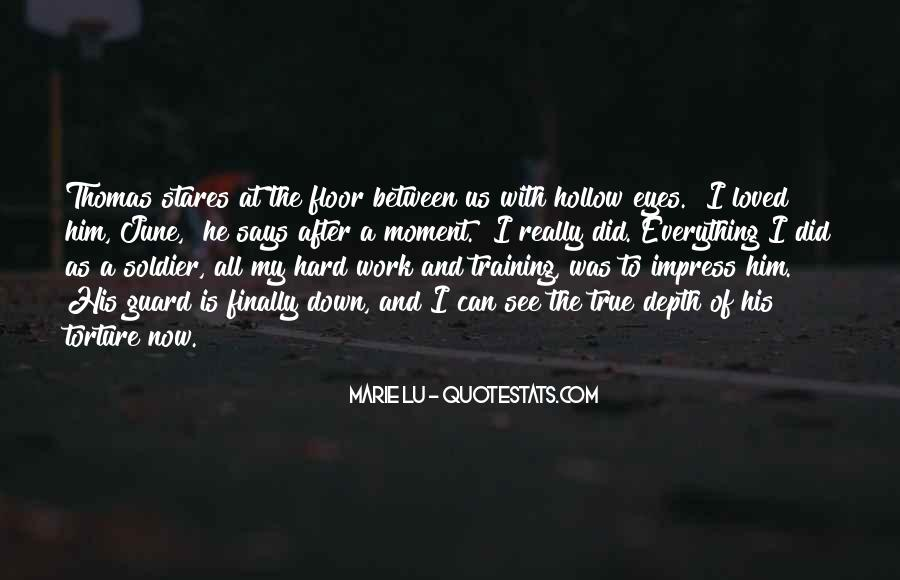 Quotes About Training Hard #114605