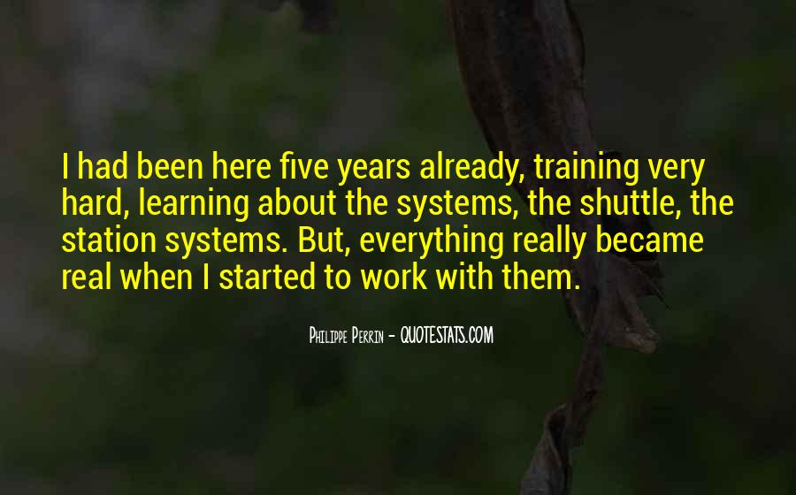 Quotes About Training Hard #1228686