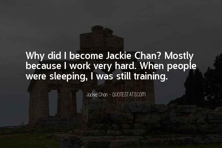 Quotes About Training Hard #1312249