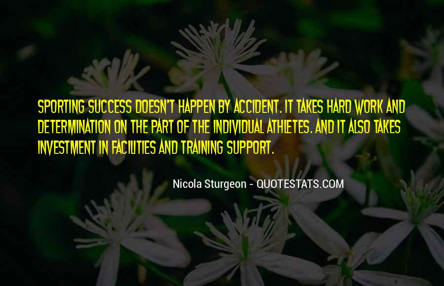 Quotes About Training Hard #1494550