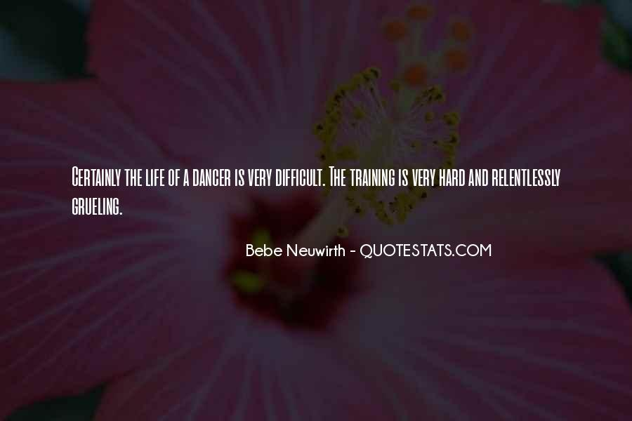 Quotes About Training Hard #150981