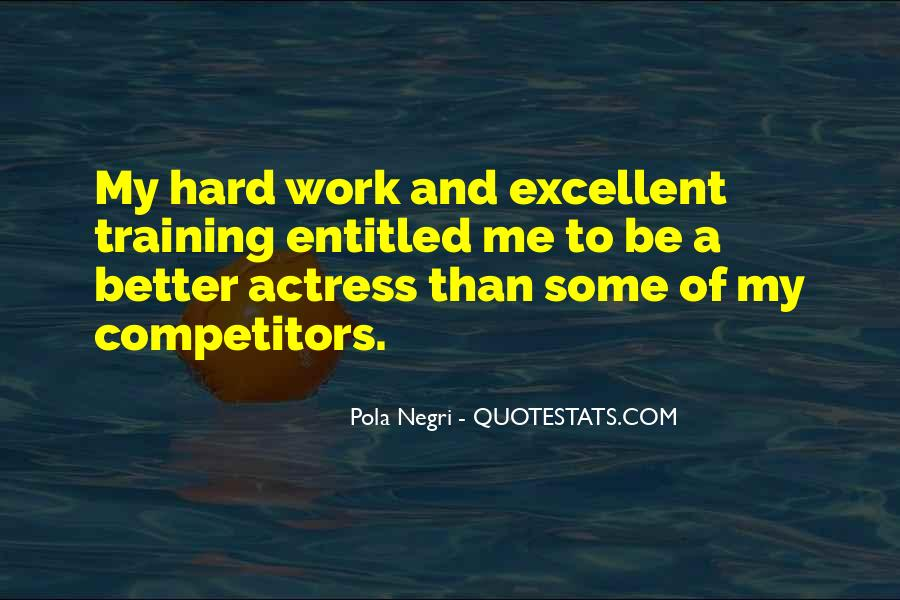 Quotes About Training Hard #1512322