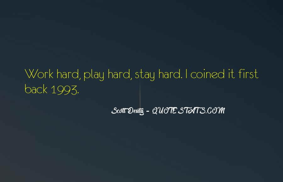 Quotes About Training Hard #1527374