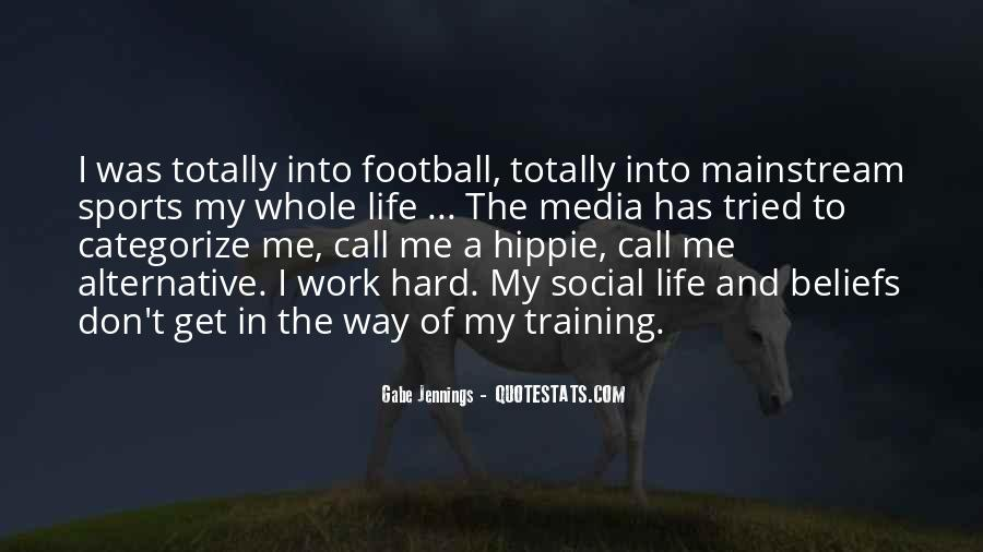 Quotes About Training Hard #1562615