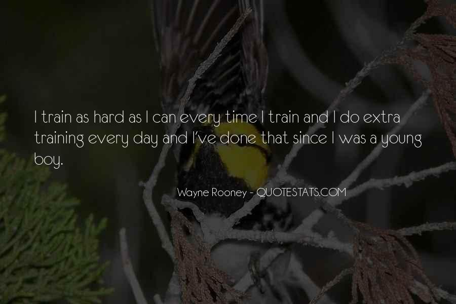 Quotes About Training Hard #1691377