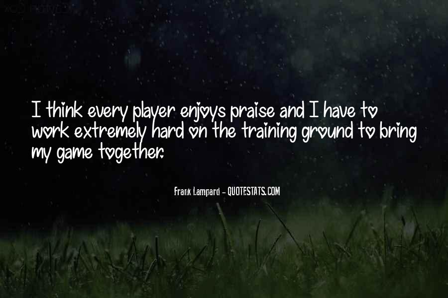 Quotes About Training Hard #1798419
