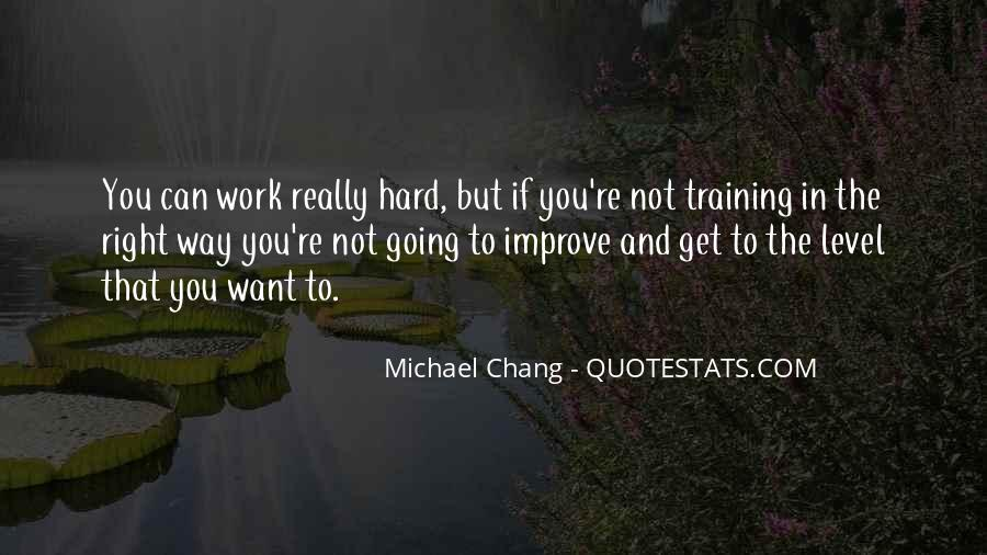 Quotes About Training Hard #252865