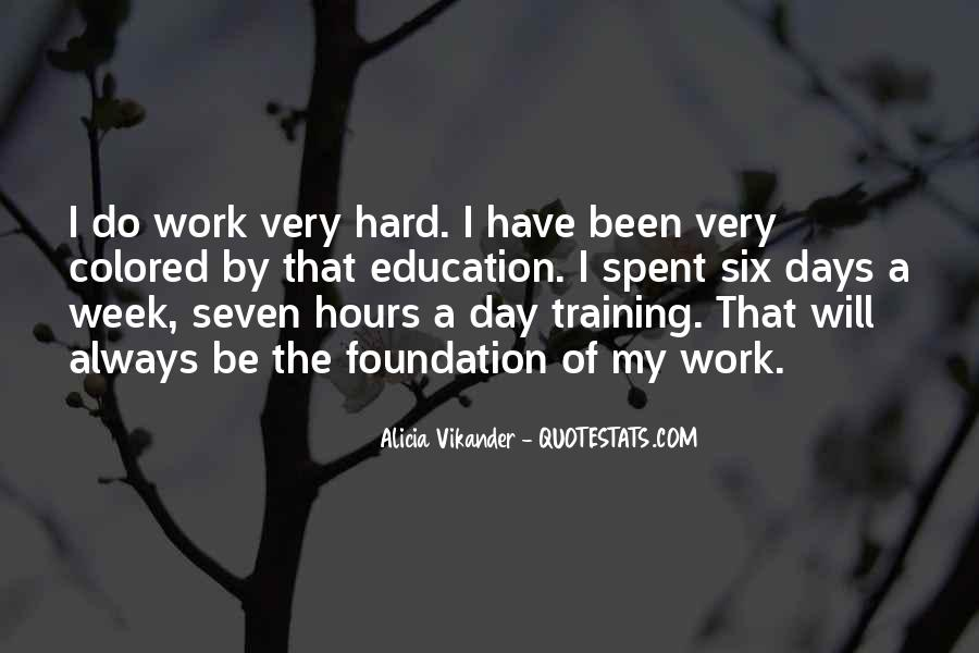 Quotes About Training Hard #290329