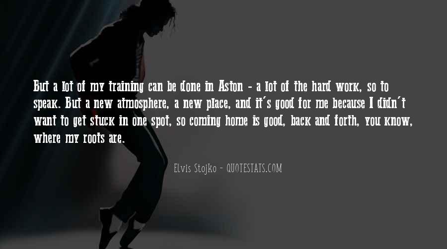 Quotes About Training Hard #366587