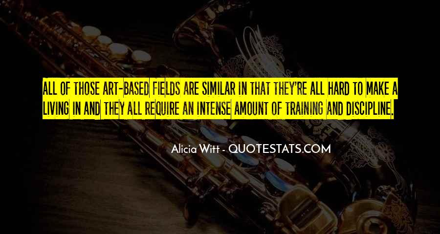 Quotes About Training Hard #418900