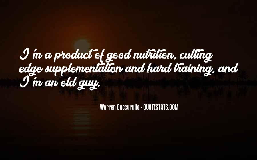 Quotes About Training Hard #444943