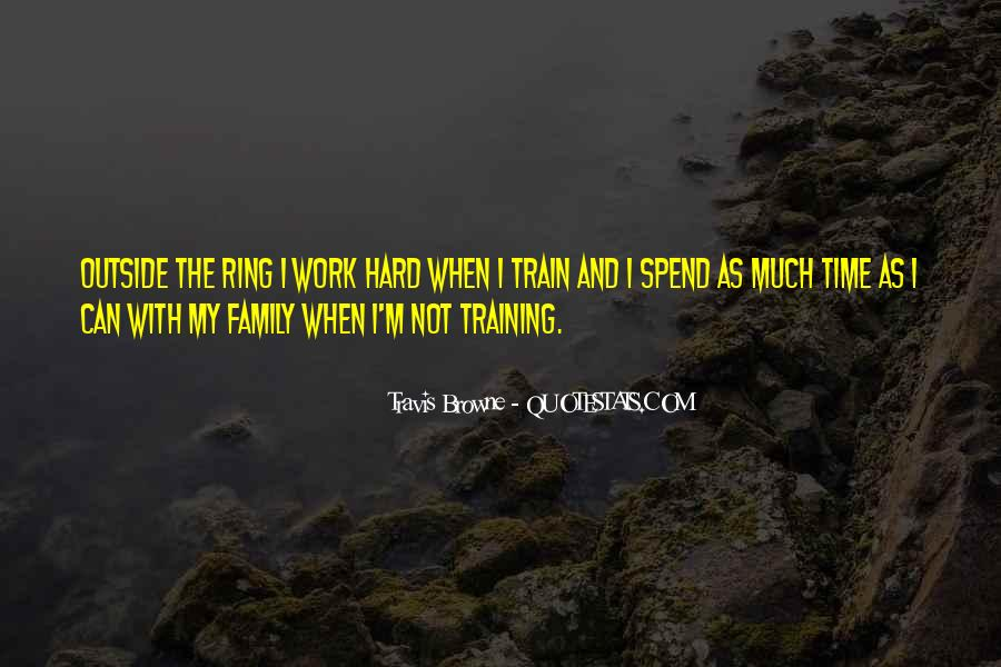 Quotes About Training Hard #459280