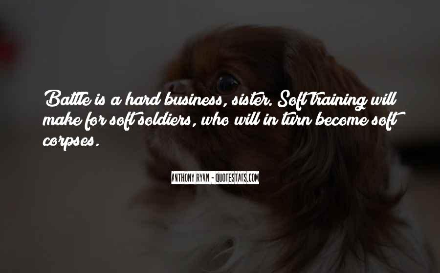 Quotes About Training Hard #503779