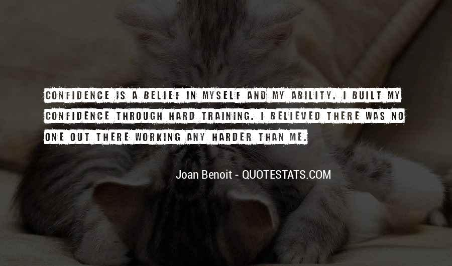 Quotes About Training Hard #585795