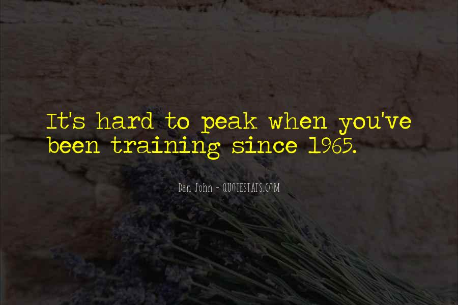 Quotes About Training Hard #846038