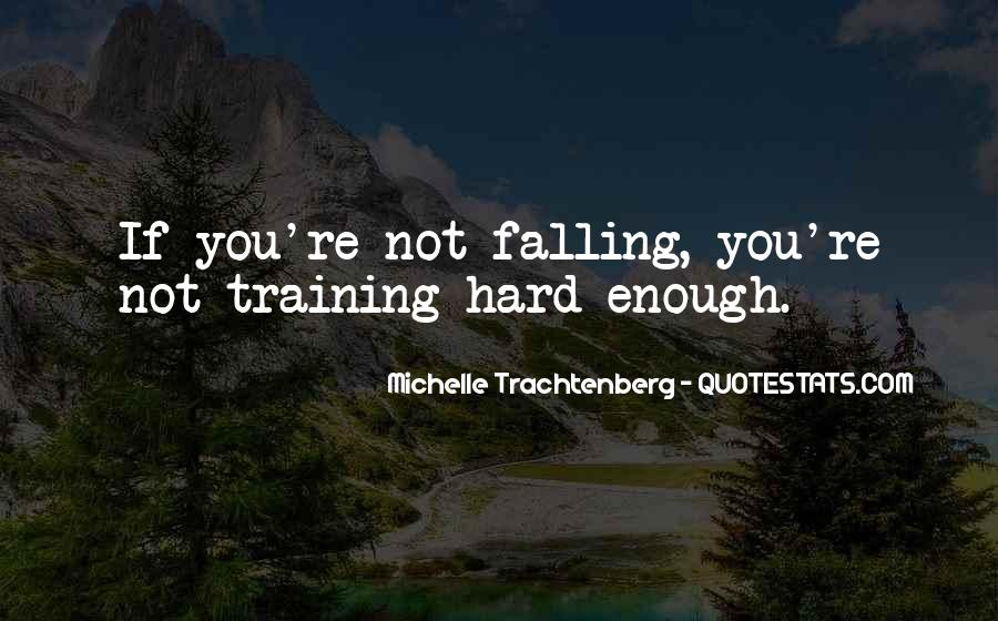 Quotes About Training Hard #906057