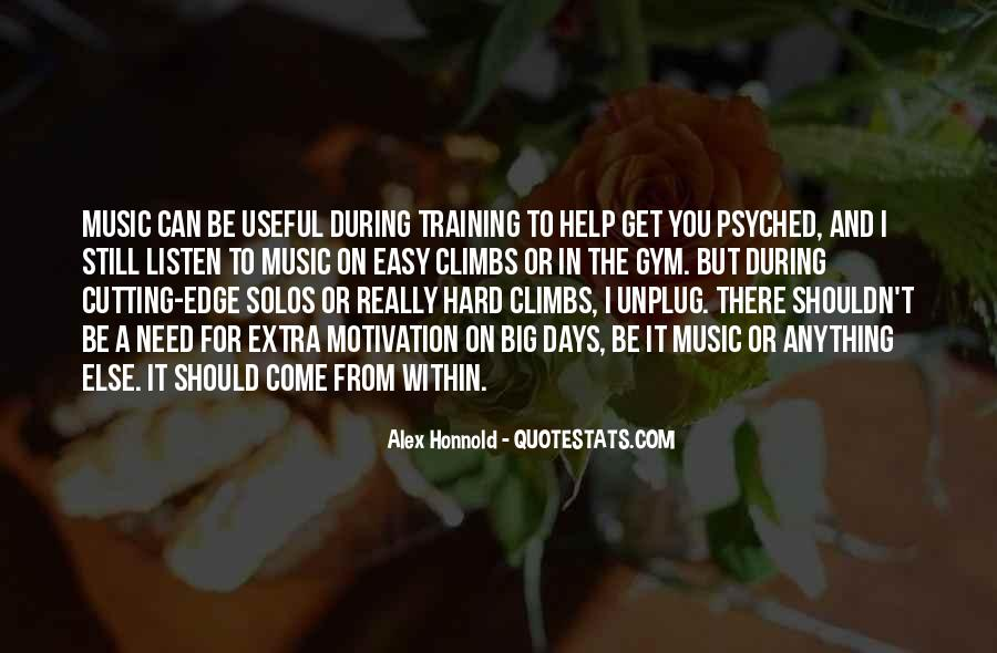 Quotes About Training Hard #906251
