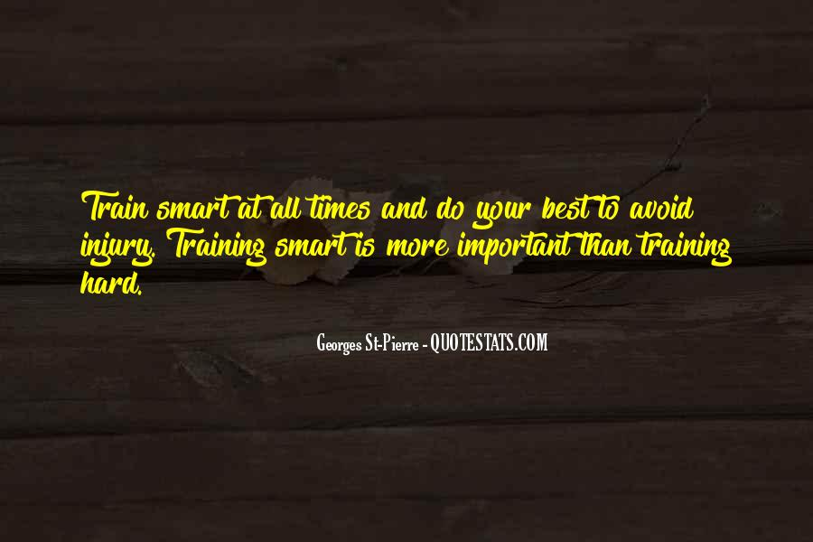 Quotes About Training Hard #910170