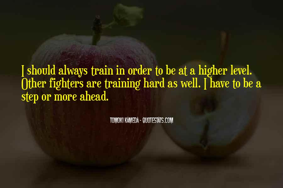 Quotes About Training Hard #921258