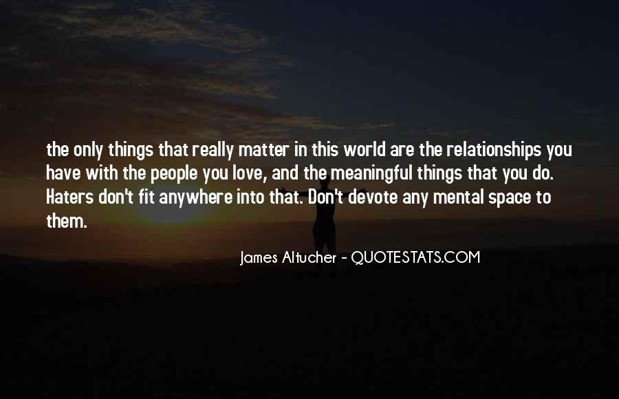 Quotes About Relationships Not Going Anywhere #1752444