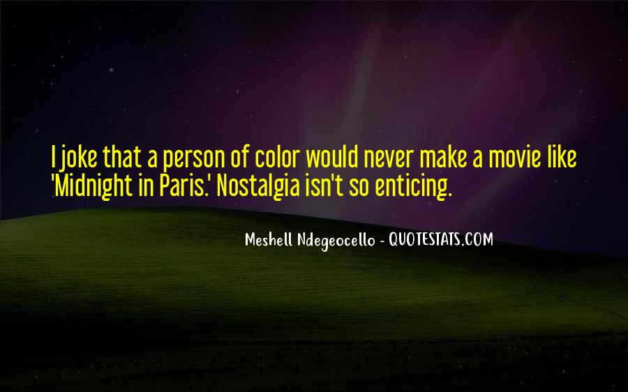 Quotes About Midnight In Paris #441304